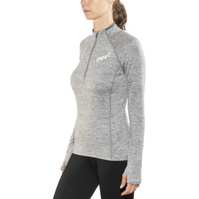 inov-8 Train Elite Mid LS Zip Top Women, light grey